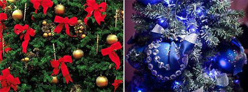 украшения елки на новый год