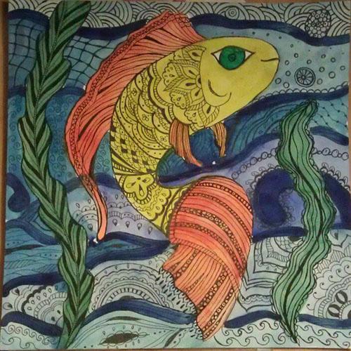 золотая рыбка исполнит желания