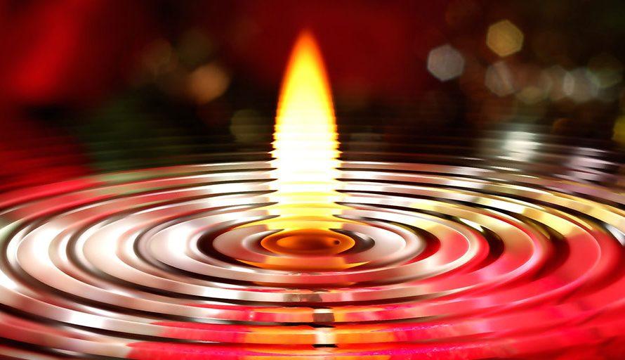 Гадания на святки: воск, вода, огонь